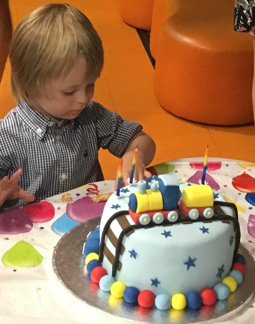Miles Alexander 3rd Birthday