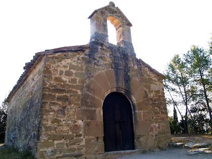 Façana de ponent de l'ermita de Sant Salvador del Canadell