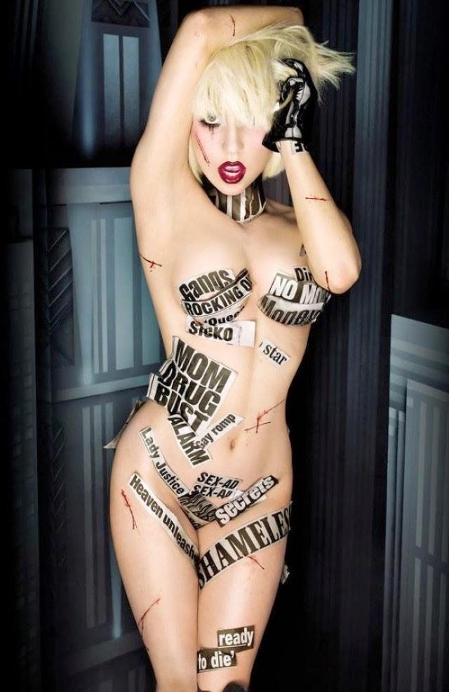 3 de las fotos más sexys de Lady Gaga
