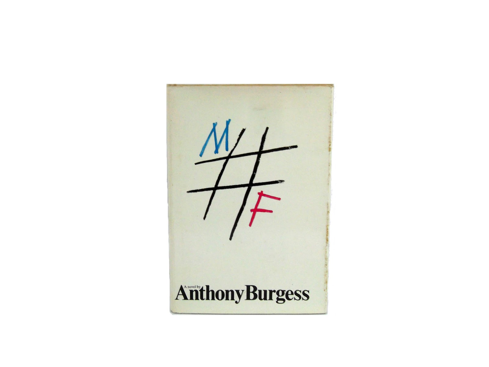 M/F Anthony Burgess First Edition Foxburrow Vintage