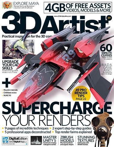 3D Artist Magazine Issue 89 2016