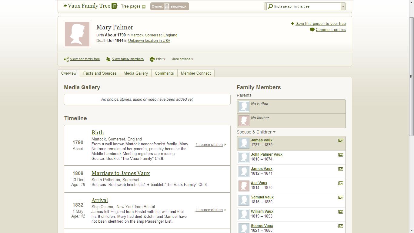 Finding Genealogy Gems in Ancestry Member Trees