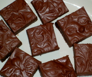 Brownies, Warm, Or Cooled………..