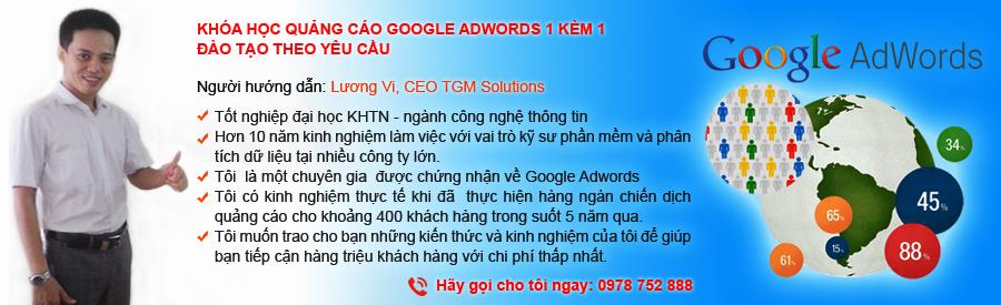 Khóa Học Quảng Cáo Google Adwords 1 kèm 1 - Đào tạo theo yêu cầu