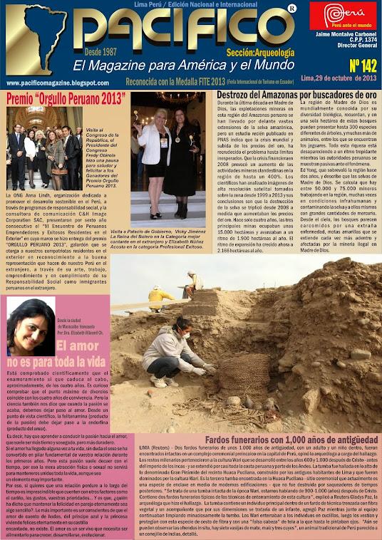 Revista Pacífico Nº 142 Arqueología