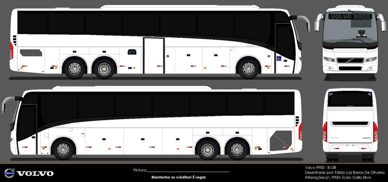 Bus MG: Volvo 9900