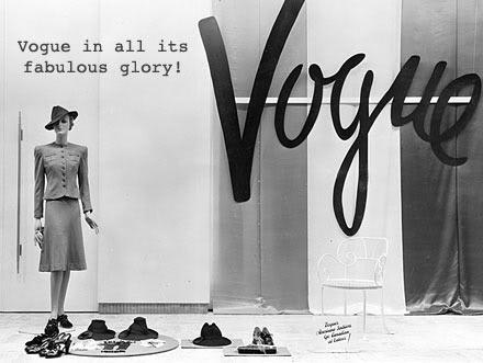 Retro Threadz Vintage: Vintage Vogue