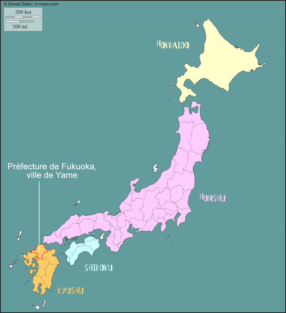 Fukuoka Japan Map - photo#40