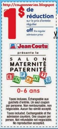 Coupons et circulaires 1 00 sur le prix d 39 entr e for Prix entree salon du bourget 2015