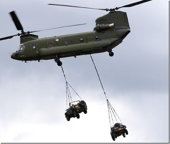 8 - Boeing CH-47 Chinook