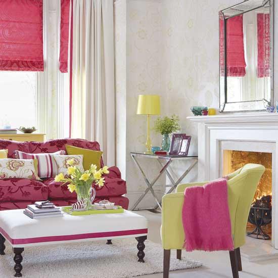 Decoração de sala pink