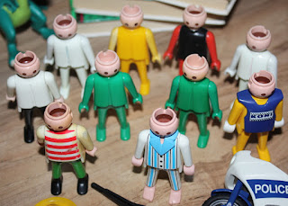 old playmobil figurines
