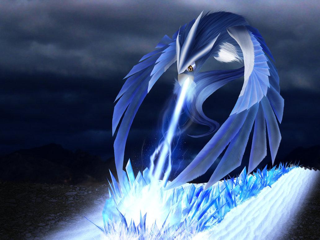 Ice Bird Pokemon
