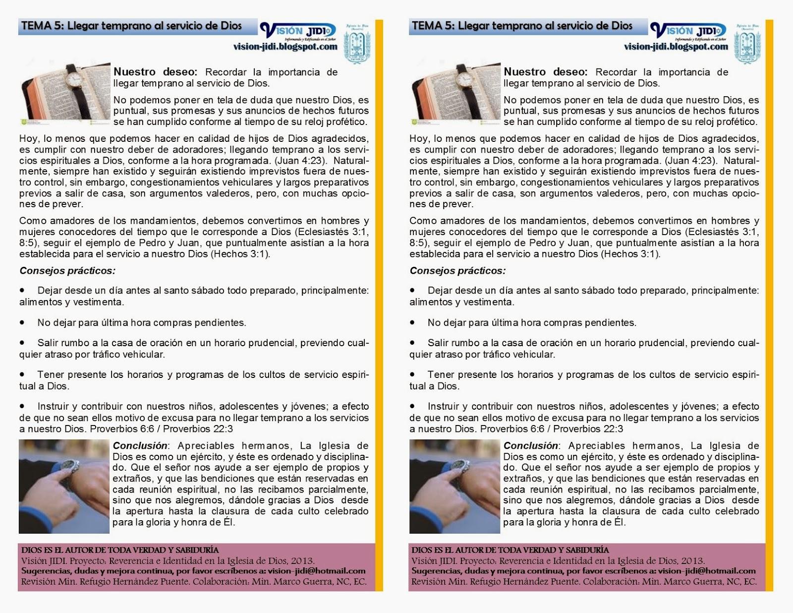 Archivo: REVERENCIA E IDENTIDAD