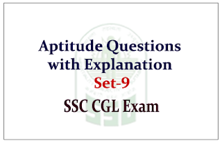 Practice Aptitude Questions with Solution for SSC CGL Exam