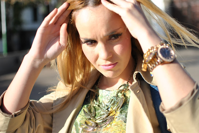 pepa loves bolso, maxnina collar, maxnina necklace, nery hdez, trench look, outfit tenerife, nery hdez