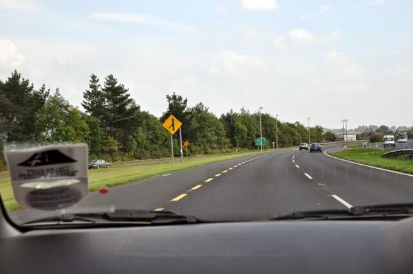 Irland 2014 - Tag 1 | Erste Fahrt im Rechtslenker nach Limerick