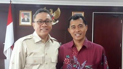 Nuzran Optimis PAN, PDIP, Nasdem dan Gerindra Akan mengusung HM-NJ