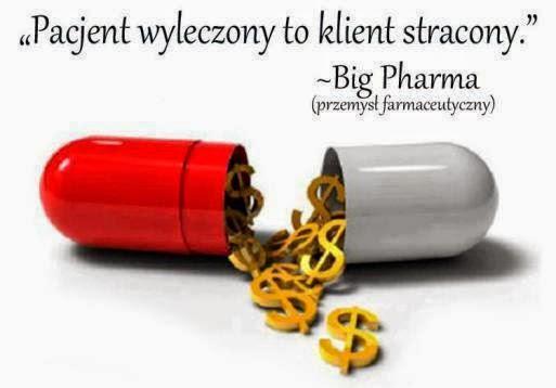 firmy farmaceityczne nie lecza tylko zarabiaja