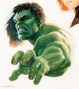 Hulk. 2012. Gouache and acrylic on bristol board, .