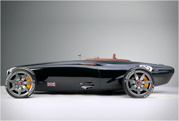 Bentley Barnato Roadster | Bentley Roadster | Bentley Roadster Concept car | way2speed.com The Bentley Barnato Roadster is a concept designed by Ben Knapp Voith