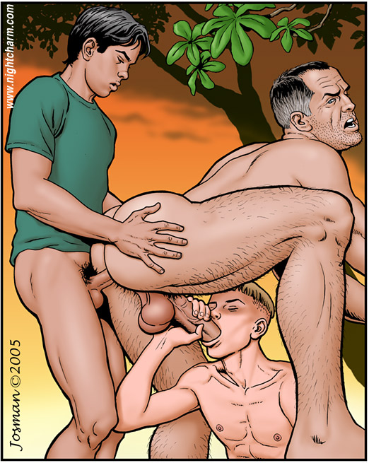 porn Gay art cartoon