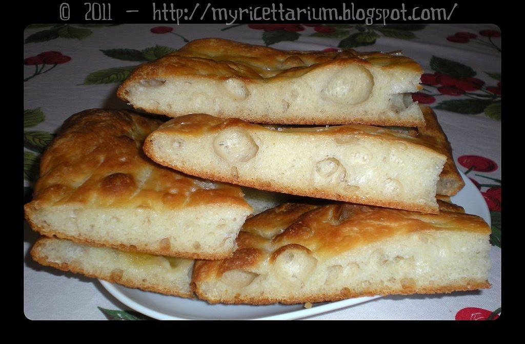 My Ricettarium: Focaccia con yogurt greco