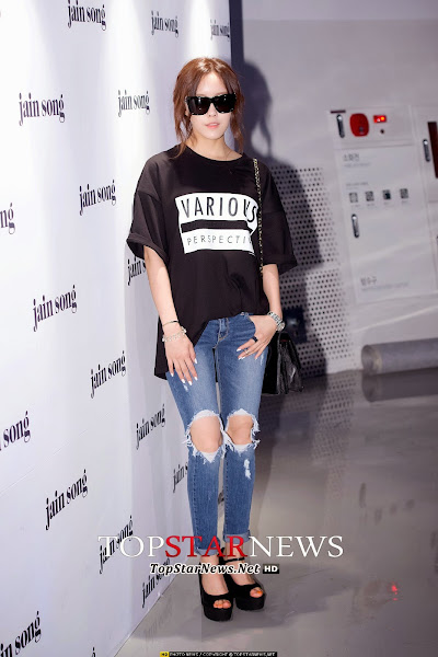 T-ara Hyomin Seoul Fashion Week 2014