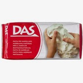 Air dry clay from DAS