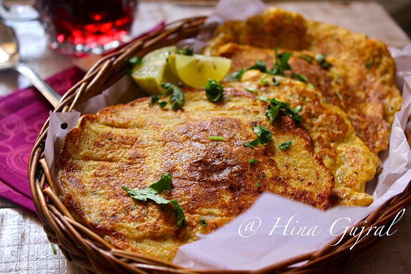 Corn Besan Cheela (Corn and Gram Flour Savory Pancakes)