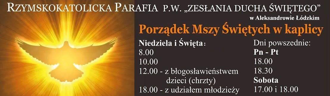 Parafia Zesłania Ducha Świętego w Aleksandrowie Łódzkim