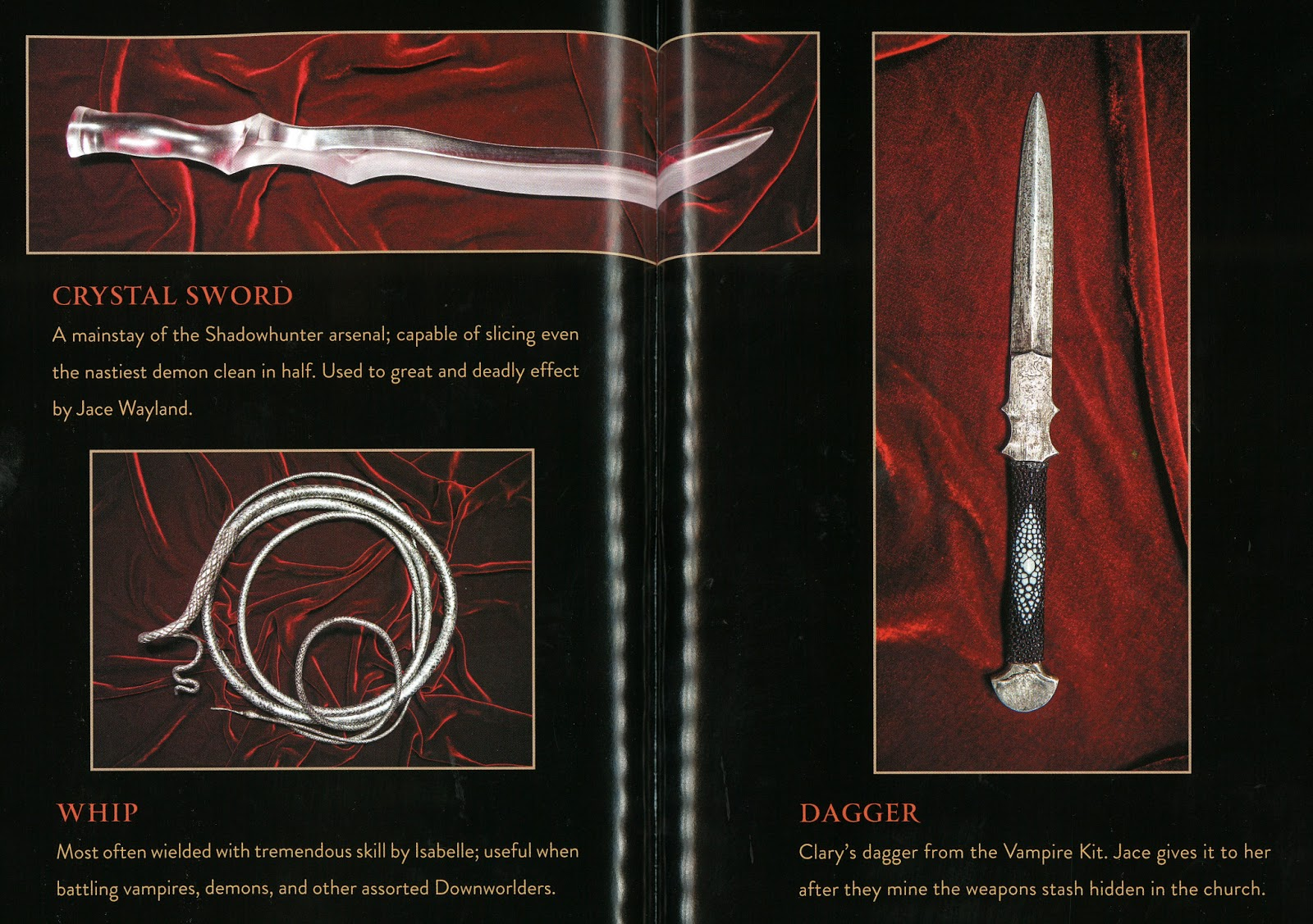 Aussie Shadowhunters • Shadowhunter Weapons in The Mortal ...