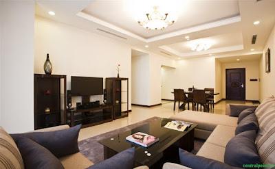 Phòng khách căn hộ chung cư 219 Trung Kính