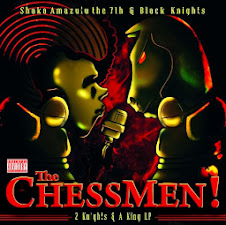 BLACK KNIGHTS & SHAKA AMAZULU THE 7TH - THE CHESSMEN: 2 KNIGHTS & A KING THEORY
