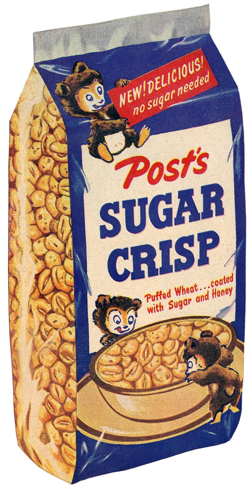 can t get enough of that sugar crisp