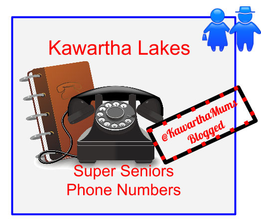 Kawartha Lakes Seniors Groups Phone List