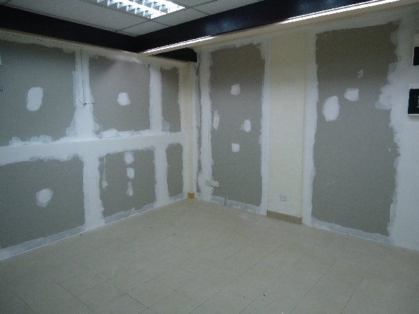 Gypsum Wall Board ~ Guidelines for fixing different materials about gypsum