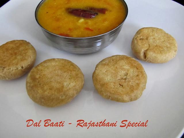 Dal Baati | Rajasthan Special dish