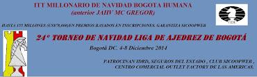 24° Torneo de Navidad Liga Ajedrez de Bogotá (Dar clic a la imagen)