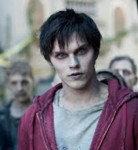 Warm Bodies in theaters in 2013 - Zombies love people, especially their brains. But R (Nicholas Hoult) is different. He's alive inside, unlike the hundreds of other grunting, drooling undead—all victims of a recent plague that drove the remaining survivors into a heavily guarded city.