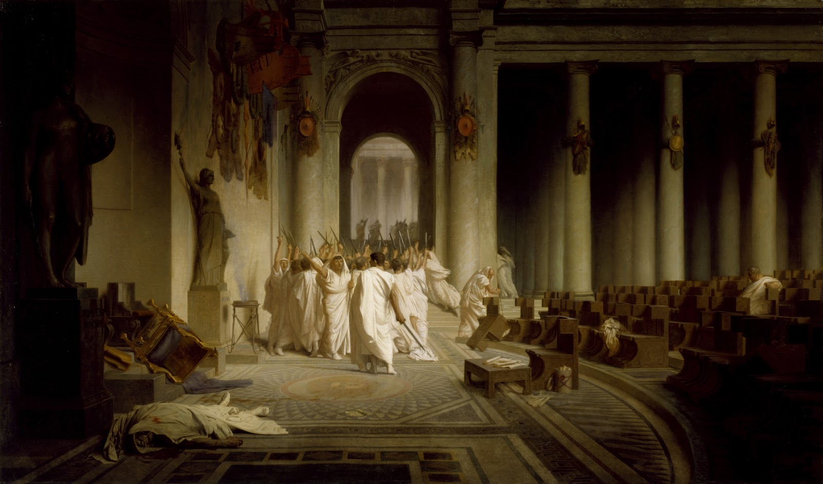 julius caesar act 2 omens The mention of julius caesar drives the introduction to the play that the dream was a favorable omen act ii, scene iii: what does artemidorus plan to do.