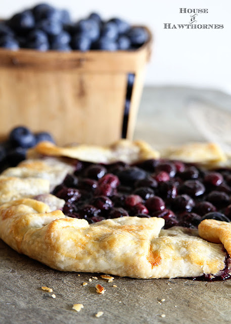 http://www.houseofhawthornes.com/blueberry-crostata-galette-rustic-pie-recipe/