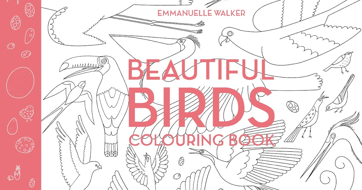 The Bookworm Baby Beautiful Birds Colouring Book
