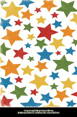 fondo de papel de estrellas