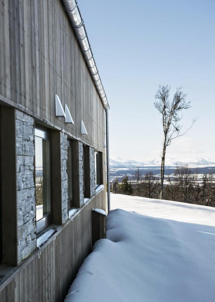 Chicaslovedecor: la cabaña nórdica moderna