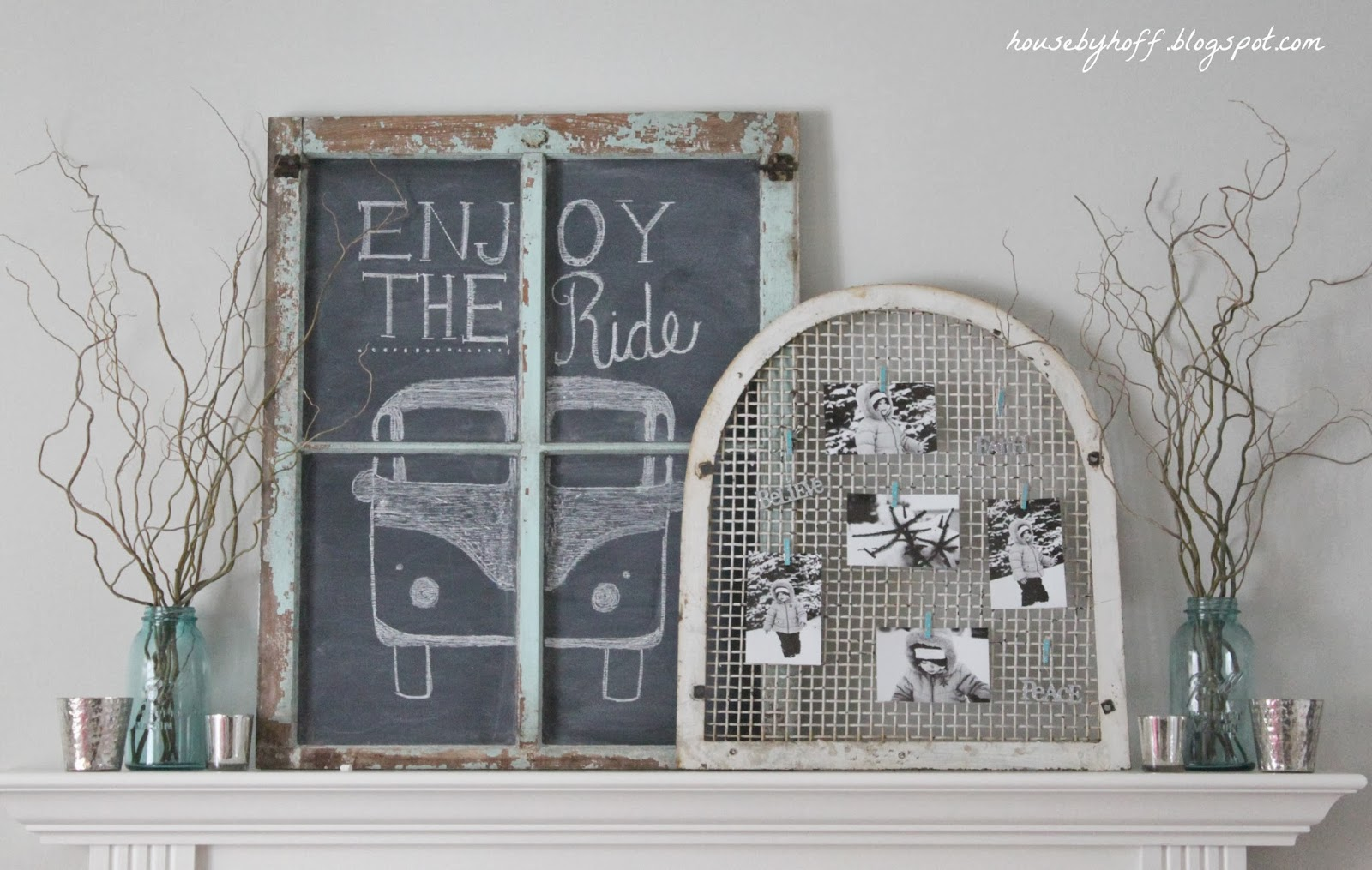 Easy Quick and Cheap Decor Ideas via housebyhoff.blogspot.com