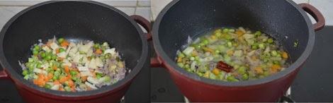 vegetable kodo millet upma
