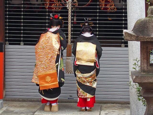 歓亀神社にも舞妓さんなったことをご報告した。