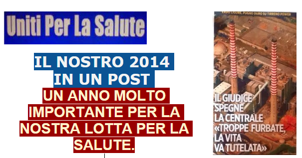 IL NOSTRO 2014 IN UN POST .