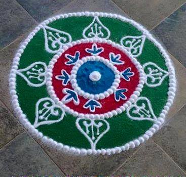 Dhanteras Rangoli